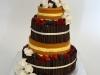 nacked_cake_bruidstaart_verse_bloemen_chocolade_eclairgebak